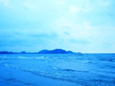 An island near the beach