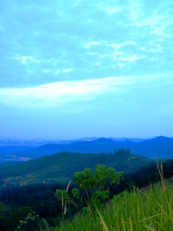 Mountains from Broga