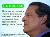 Le paradoxal discours vert de La Presse