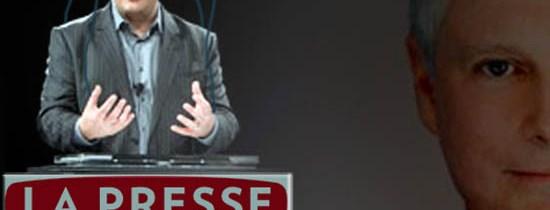 Richard Bergeron: «L'homme invisible» pour La Presse