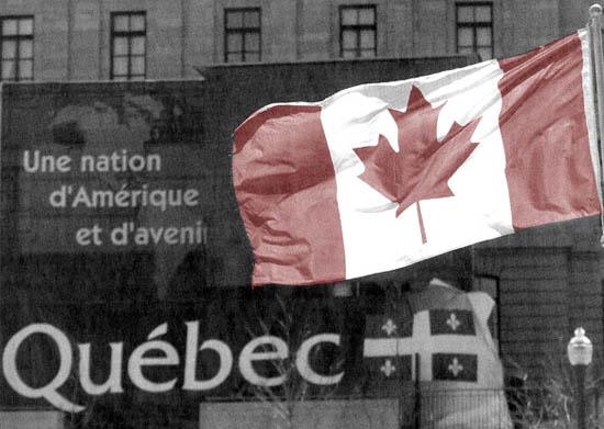 Assimilation du Québec par le Canada