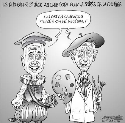 Leyton et Duceppe sont des clowns têtant le vote des artistes