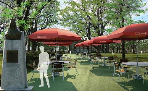 projet de verdissement au parc Laurier