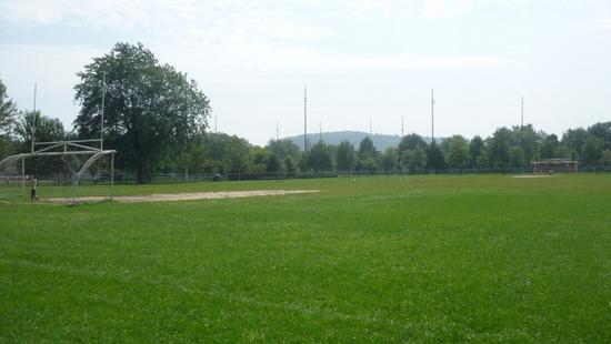 terrain de soccer du parc Laurier