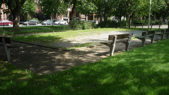 terrain de croquet