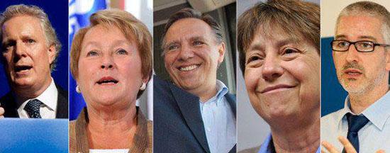 élection du Québec en 2012