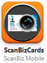 ScanBizCards pour iPhone