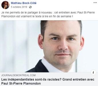 https://www.journaldemontreal.com/2019/10/04/les-independantistes-sont-ils-racistes-grand-entretien-avec-paul-st-pierre-plamondon