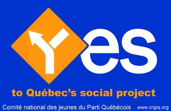 Yes to  Quebec sovereignty