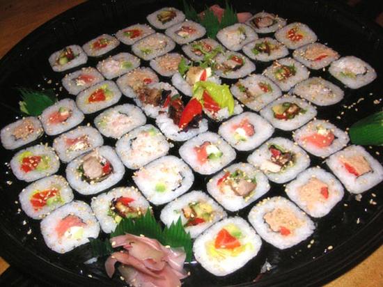 Plat de Sushis