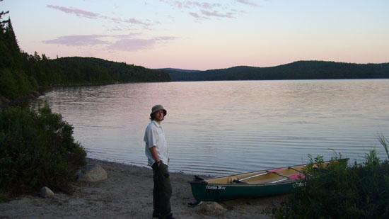 Le lac Rossi dans le Parc national du Mont-Tremblant
