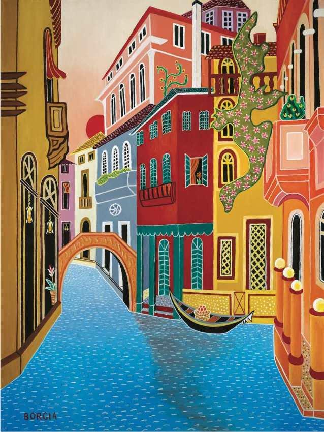 Venetian Sun, 48 x 36 inches