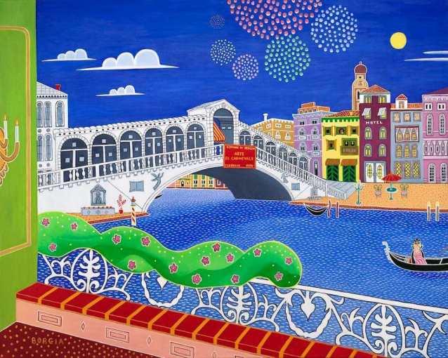 Venice, 48 x 60 inches