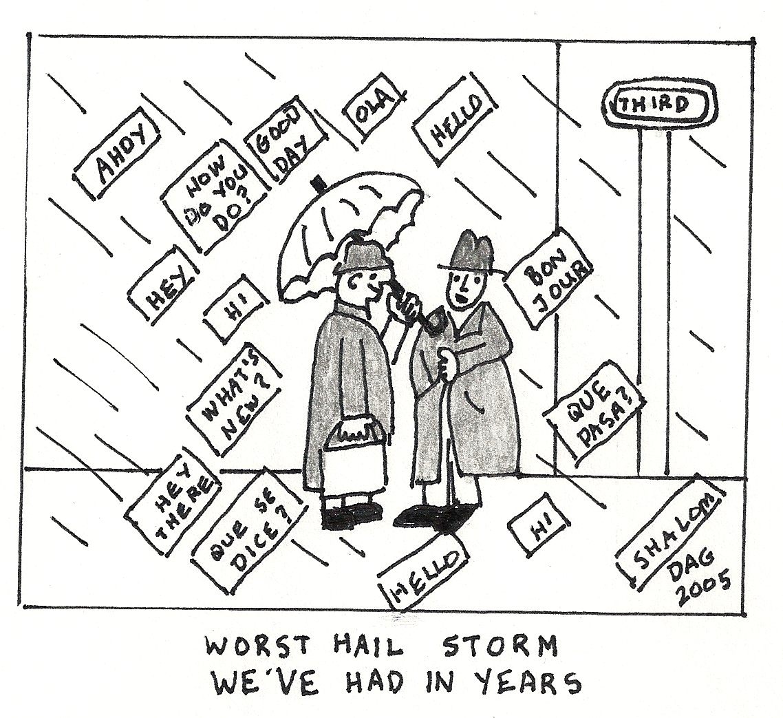 Weather Cartoon
