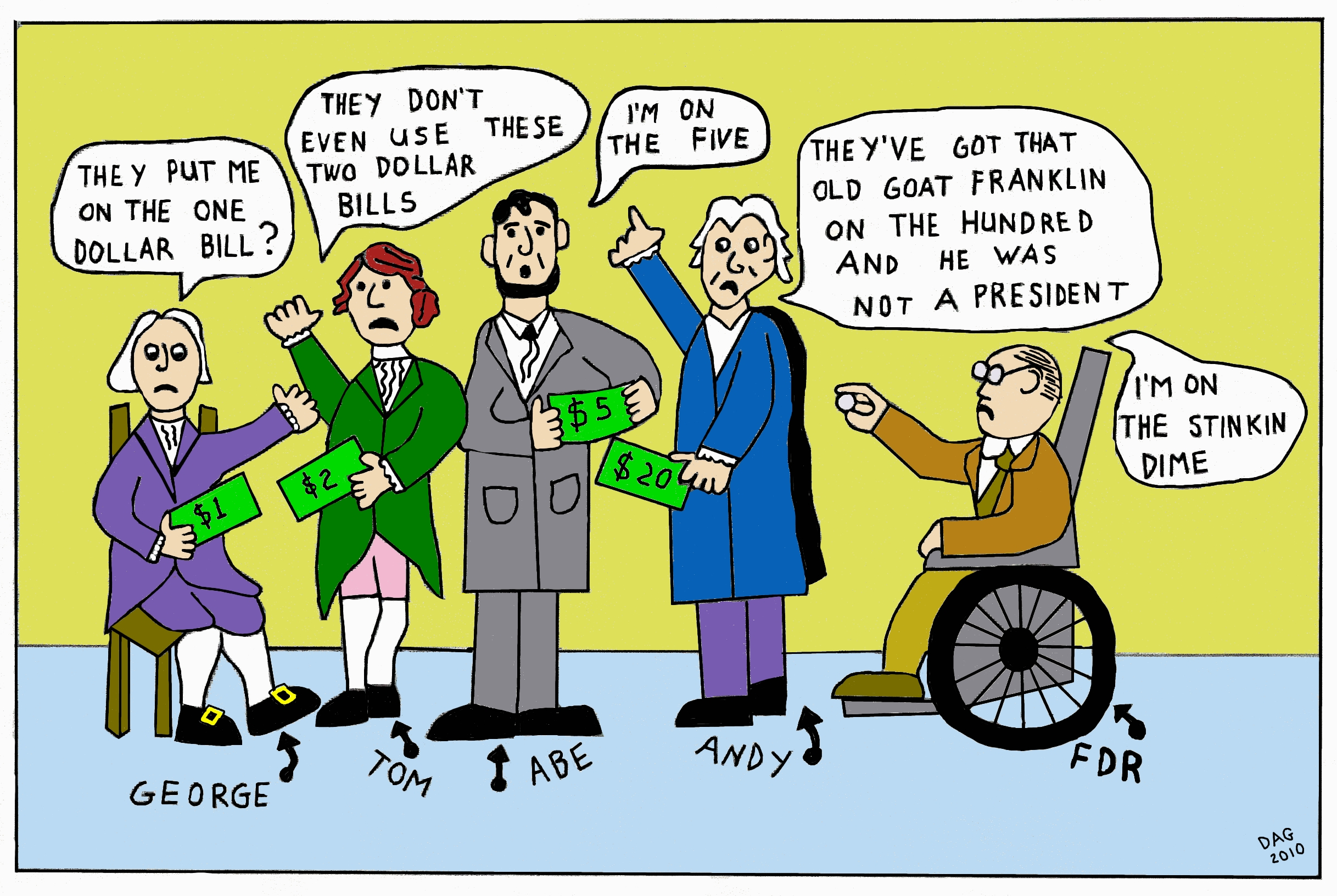 Happy Presidents Day By Carl D Agostino