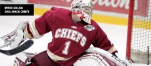 Cornell's Mitch Gallam - Source : HockeyNow.Ca