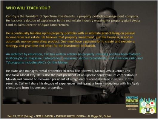 CREATING REAL ESTATE WEALTH DUBAI 3