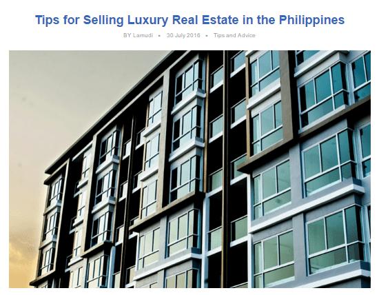 Luxury Lamudi Article