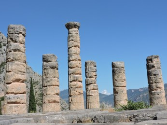 Columns of the Temple of Apollo.
