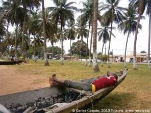 Siesta en Ngoyé, Kribi