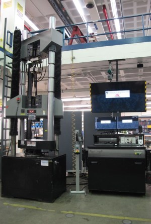 Instron 1500HDX Universal Testing Machine | Carleton Laboratory Website