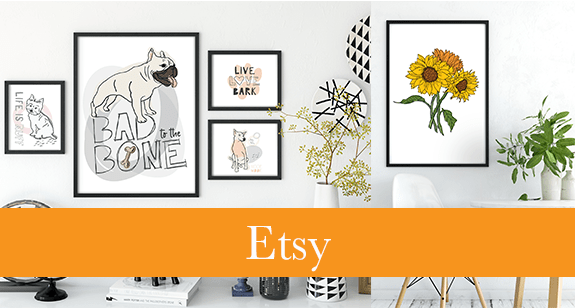 Esty Shop Header