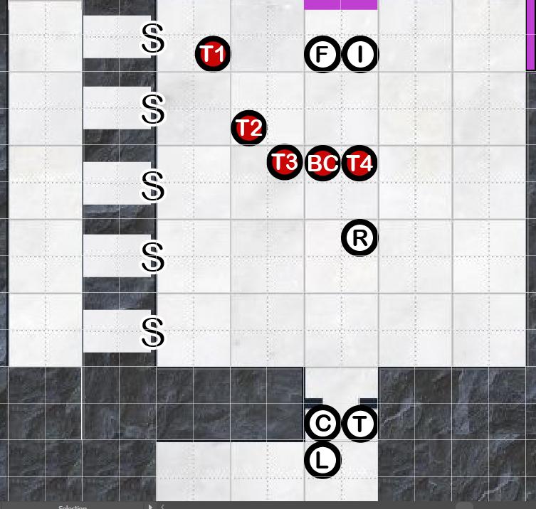 Starting map
