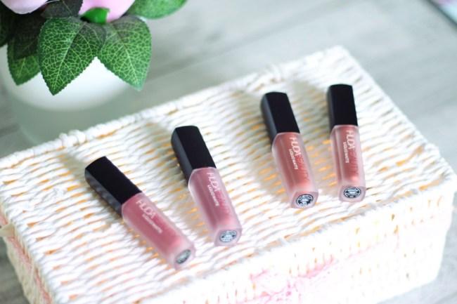 J ai testé les liquid matte huda beauty pink edition
