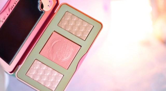 palette sweet peach glow too faced avis
