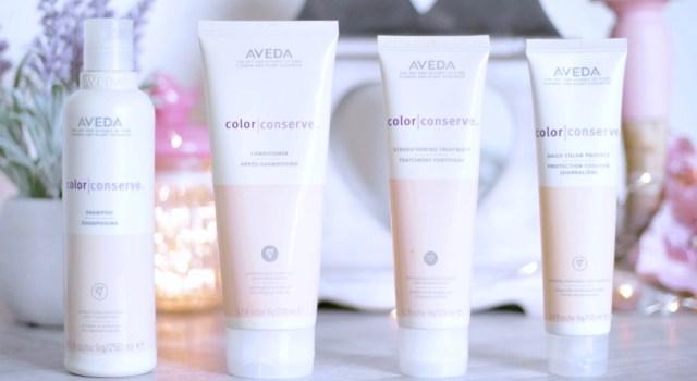 gamme color conserve aveda cheveux colorés