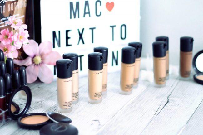 next to nothing mac peau filtre snapchat