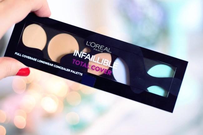 palette correctrice total cover infaillible l'oréal avis avant après