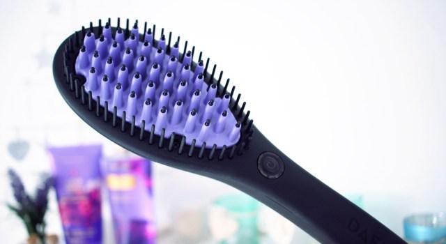 j'ai testé la brosse à lisser dafni avis avant après
