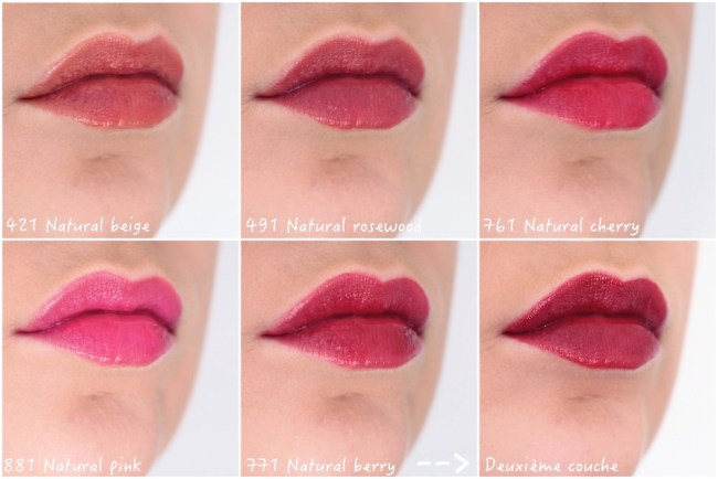 Lip Tattoo De Dior Avis Test Swatch Carline Beauty