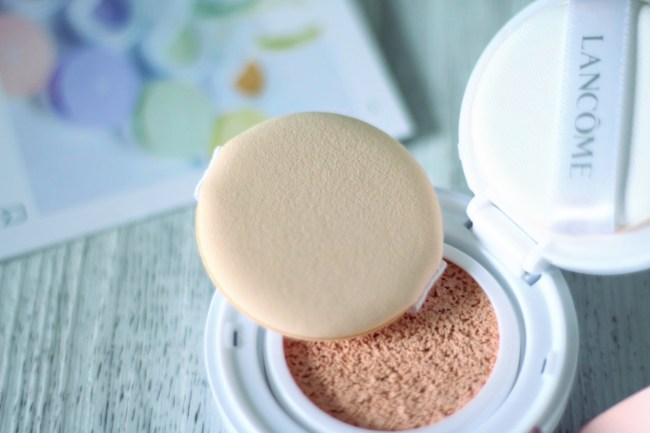 miracle cc cushion lancôme avis test