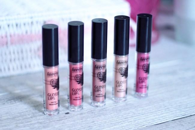 gloss bio lavera avis swatch glossy lips