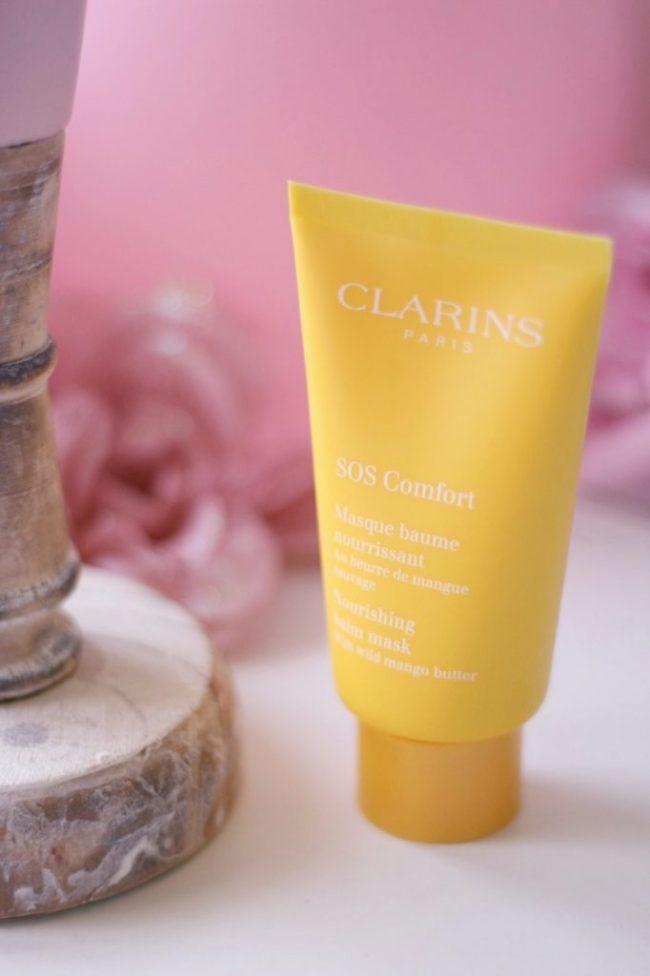 masques sos clarins pure hydra comfort test avis