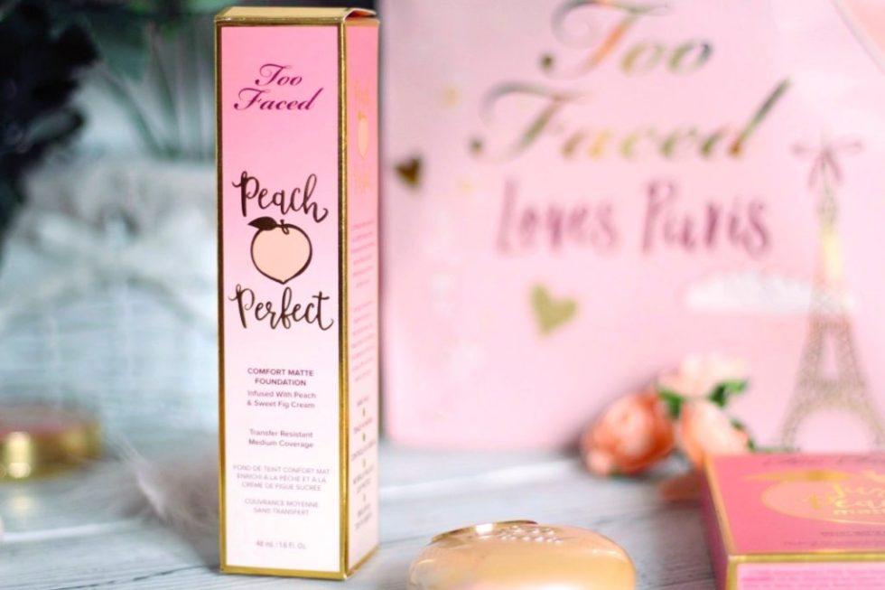 fond de teint peach perfect too faced avis avant après