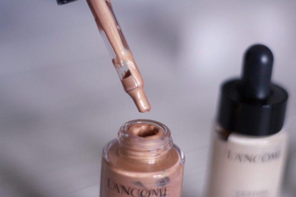 teint frais lumineux teint miracle custom drops Lancôme