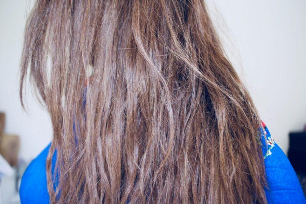 le jour ou j'ai massacré mes cheveux lissage et teinture