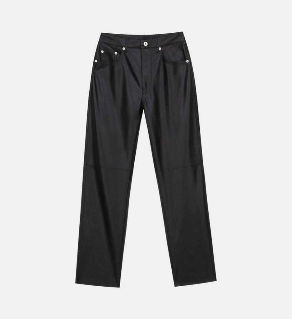 pantalon cuir tendance mode automne hiver 2021