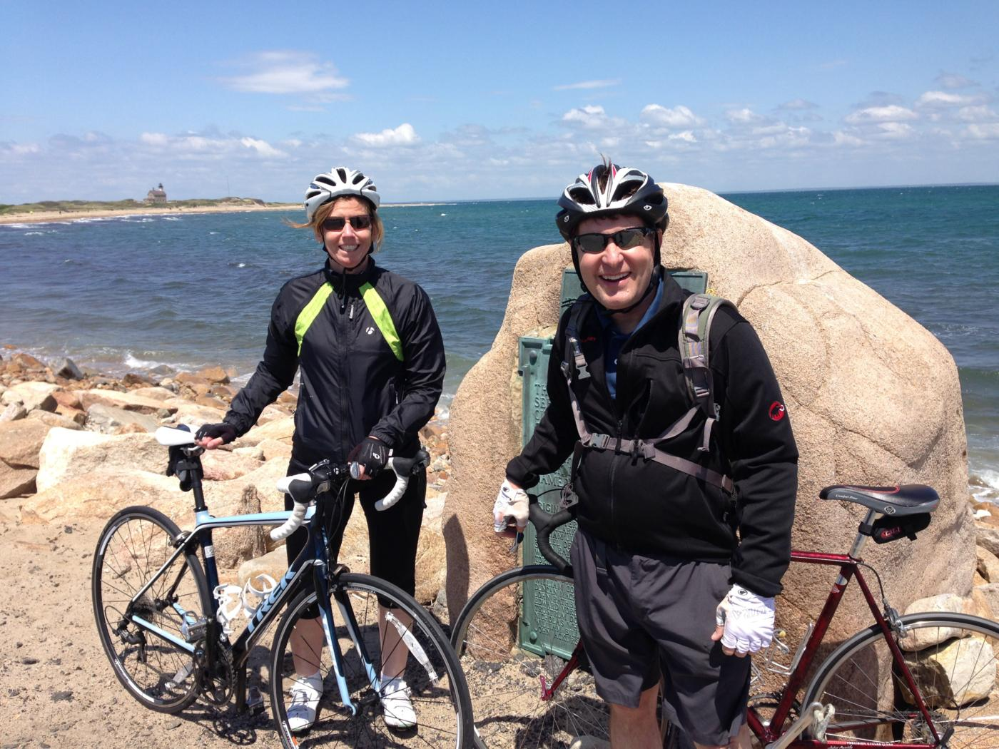 Block Island cycling bike