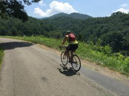 Gretchen Weinnig climbs and climbs and climbs...