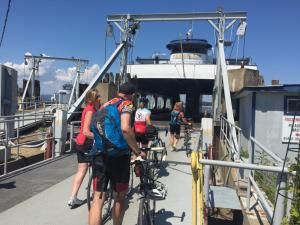 Loading onto the Ferry