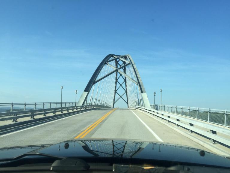 The Crown Point Bridge