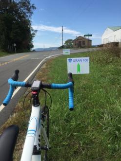 The fondo took us Near Retreat in Franklin County