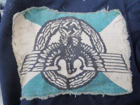 Inverted nazi symbol