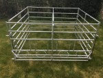 Galvanised Calf Feeding Pen