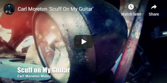 Carl Moreton Music Small White House Scuff On My Guitar