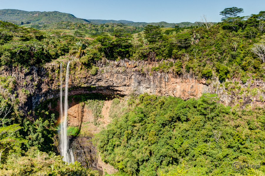 September 2013: Chamarel waterval @ Mauritius